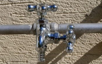 pipe, valves and handles